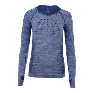 Women`s Absolute Long Sleeve Tennis Top Mazarine Blue