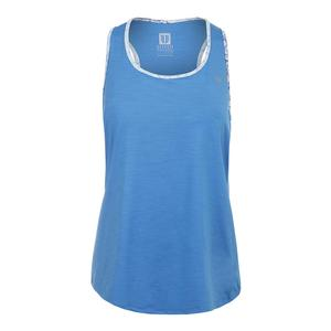 Women`s Aerate Tennis Tank Marine