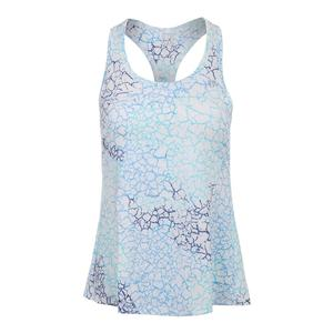 Women`s Race Day Tennis Tank Starlet Print