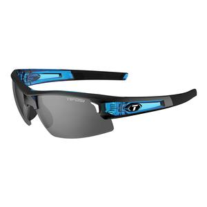 Synapse Sunglasses Crystal Blue with Smoke Lenses