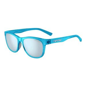 Swank Sunglasses Crystal Sky with Smoke Bright Blue Lenses