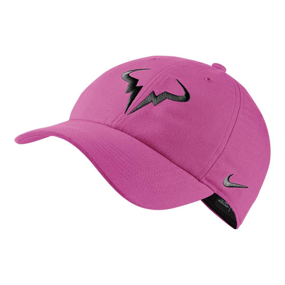 NIKE NIKE Rafa Aerobill Heritage 86 Tennis Cap Active Fuchsia. Zoom 6a5cc0dc612d