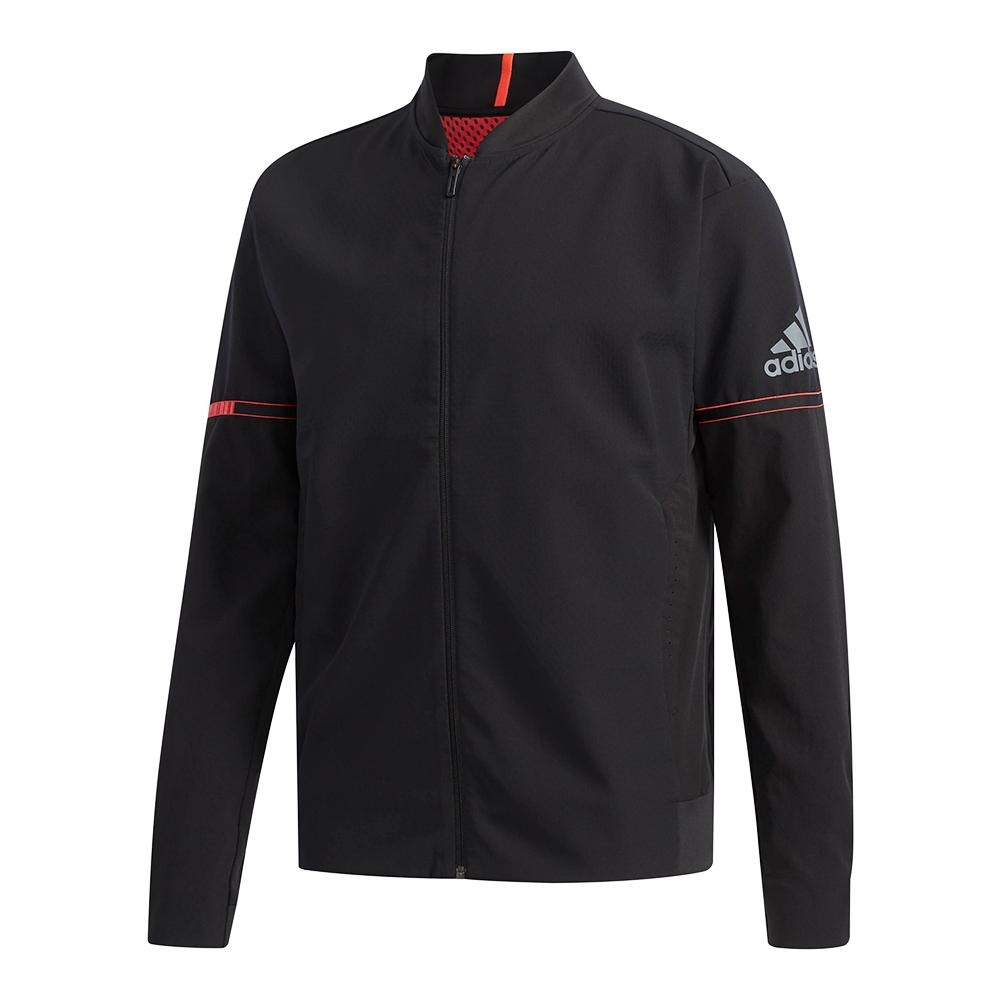 Men's Matchcode Tennis Jacket Black
