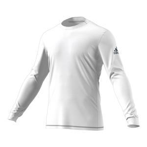 Men`s Long Sleeve Tennis Top White
