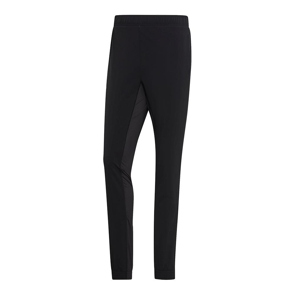 Men's Stretch Woven Tennis Pant Black