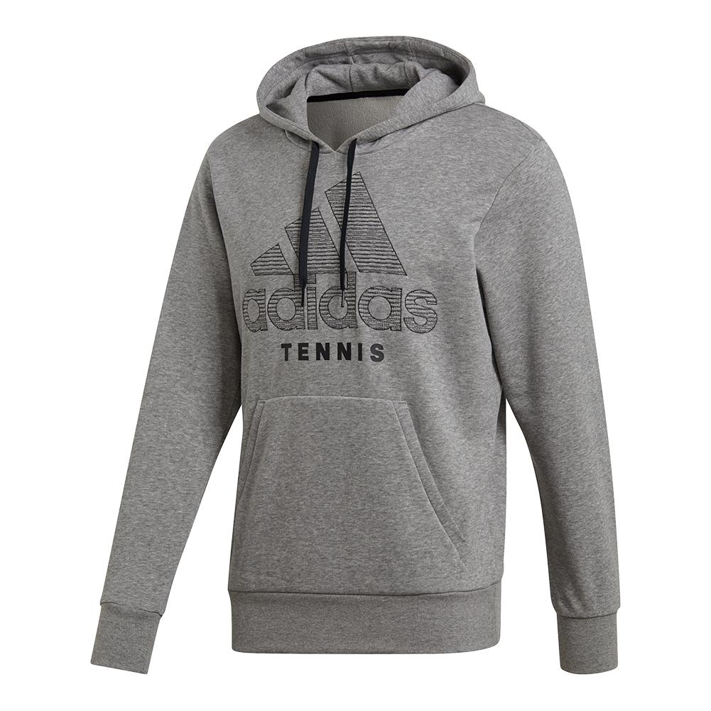 Men's Category Graphic Tennis Hoody Core Heather