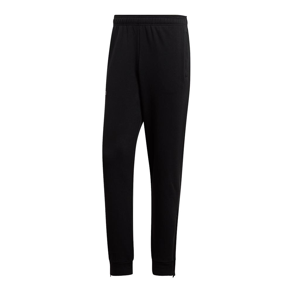 Men's Category Graphic Tennis Pant Black