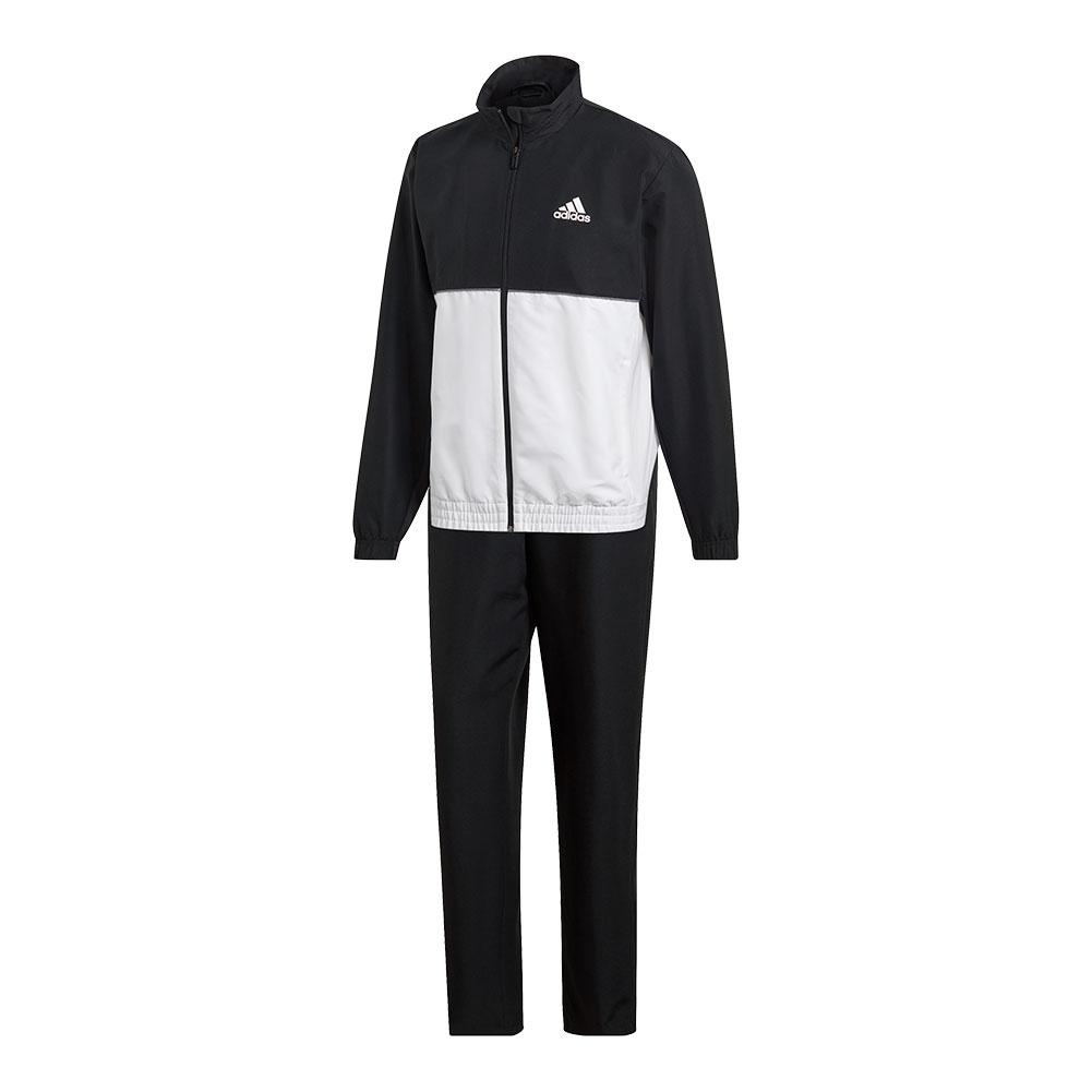 Men's Club Tracksuit Black And White
