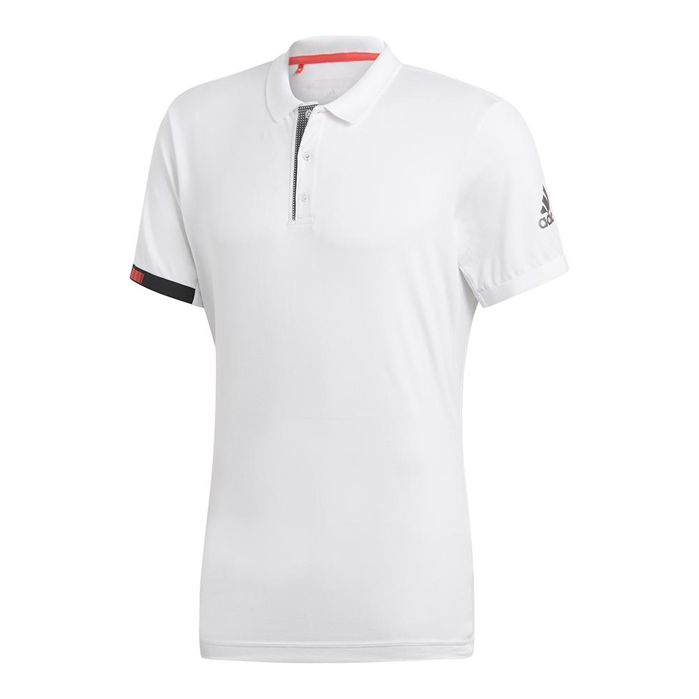 Men's Matchcode Tennis Polo White And Night Metallic