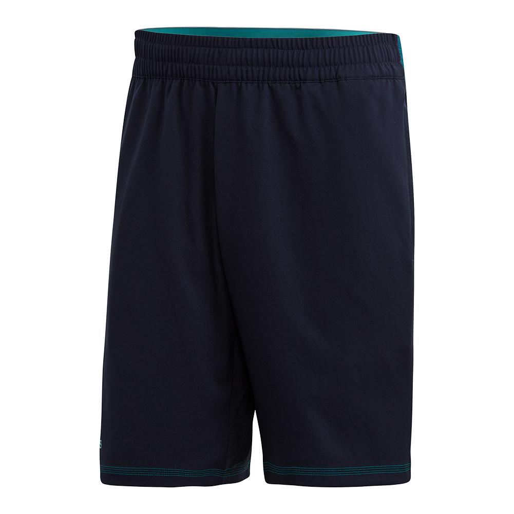 Men's Parley 9 Inch Tennis Short Legend Ink