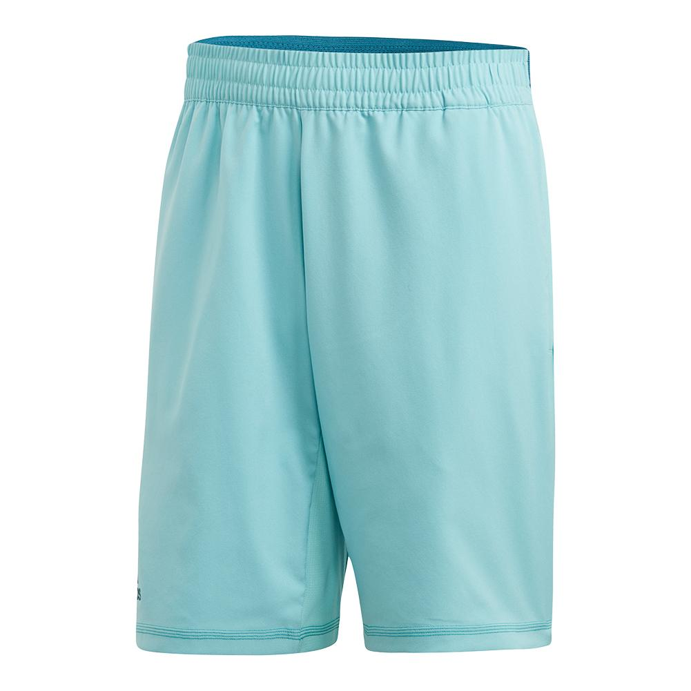 Men's Parley 9 Inch Tennis Short Blue Spirit