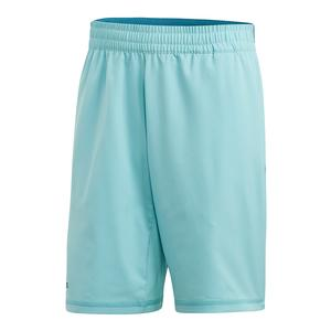 Men`s Parley 9 Inch Tennis Short Blue Spirit