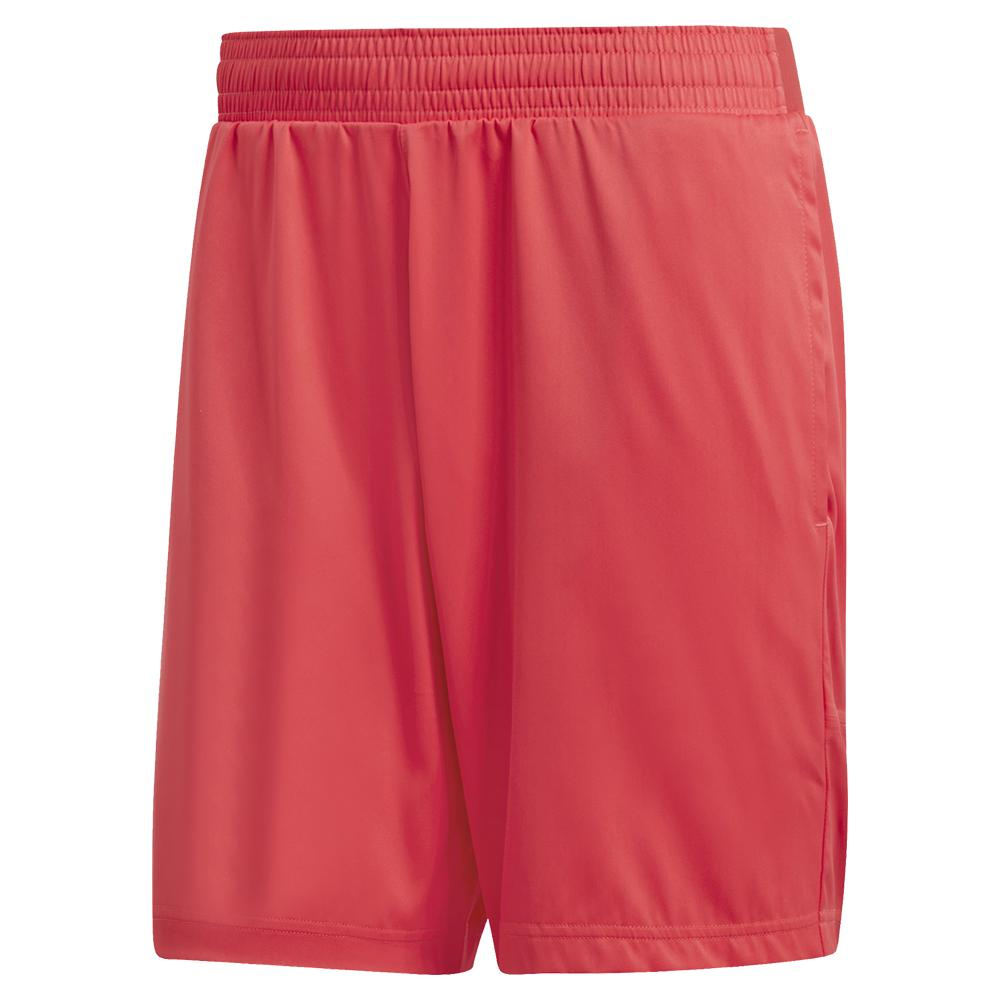 Men's Matchcode 7 Inch Tennis Short Shock Red And Night Metallic