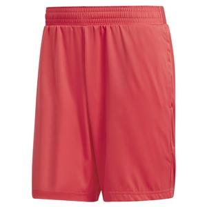 Men`s MatchCode 7 Inch Tennis Short Shock Red and Night Metallic
