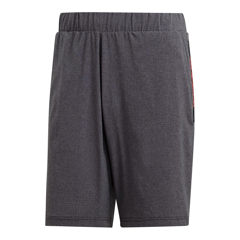 Men's Matchcode 9 Inch Tennis Short Dark Grey Heather