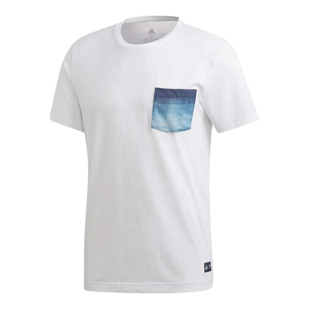 Men's Parley Pocket Tennis Tee White