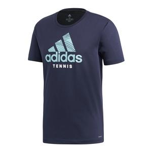 Men`s Category Graphic Tennis Tee Legend Ink