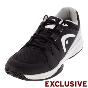 Men`s Brazer Tennis Shoes Black and White