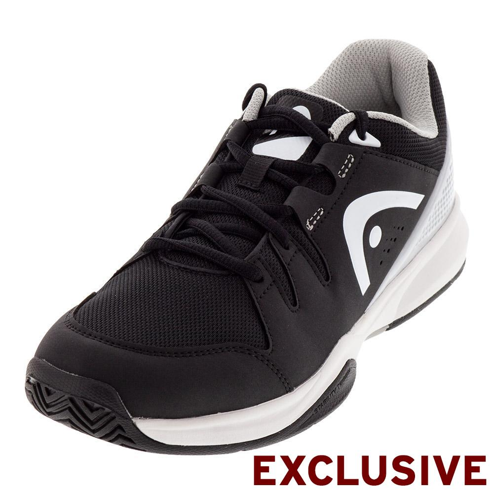Head Men S Brazer Tennis Shoes Black And White 273408bkgr F18