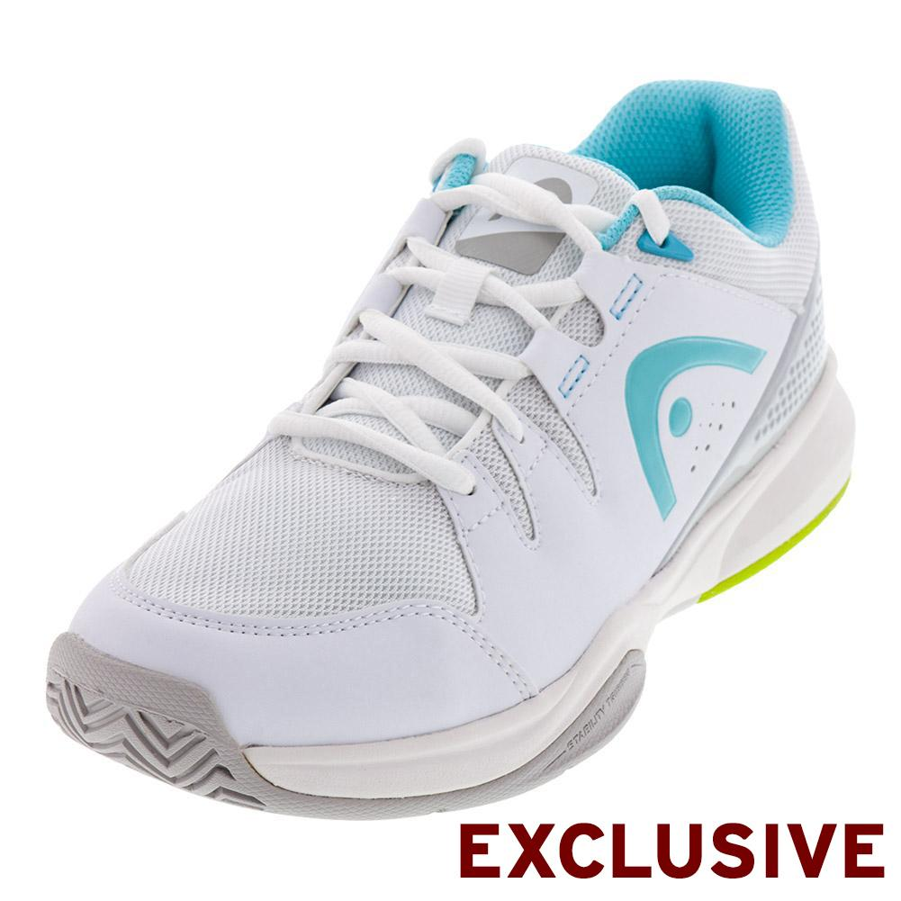Women's Brazer Tennis Shoes White And Silver