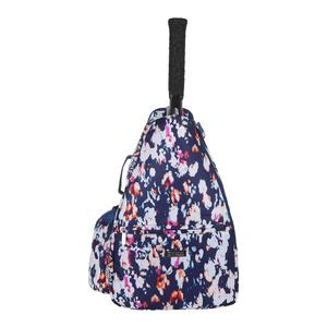 Women`s Tennis Backpack Monet Modern Print