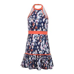 Women`s Verdant Tennis Dress Monet Modern Print