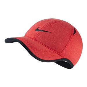 AeroBill Featherlight Premium Tennis Cap Light University Red Heather