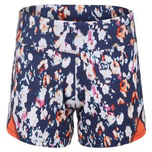 Women`s Rundown Tennis Short Monet Modern Print