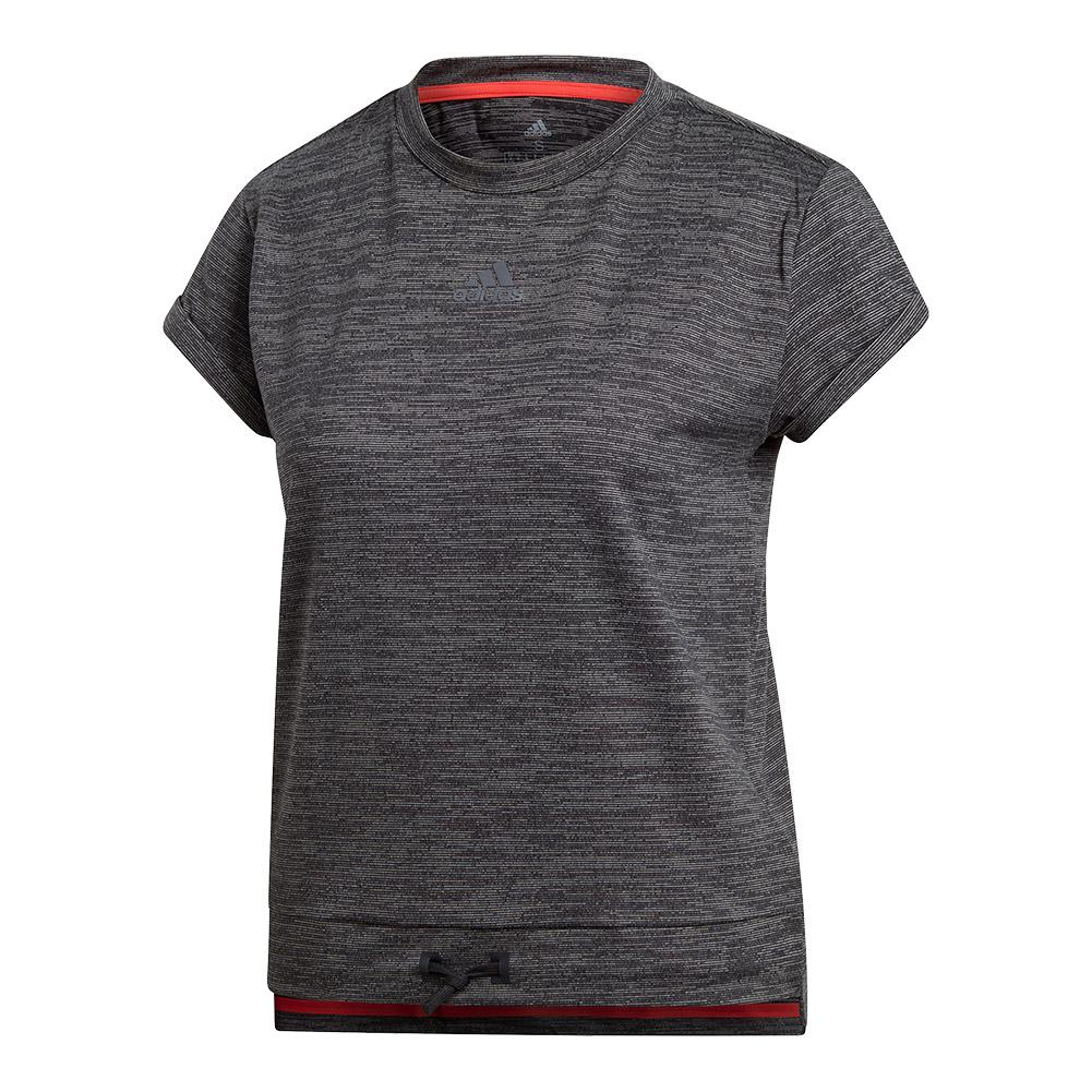 Women's Matchcode Tennis Top Black