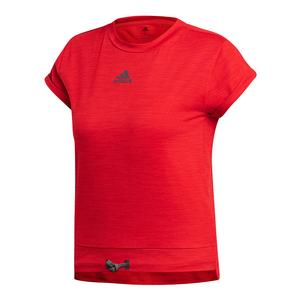 Women`s MatchCode Tennis Top Scarlet