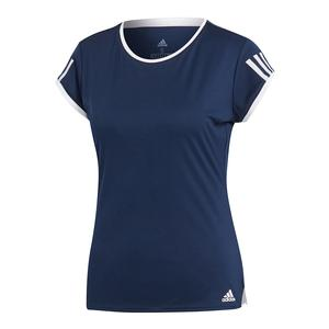 Women`s Club 3 Stripes Tennis Top Collegiate Navy