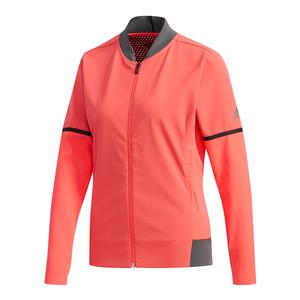 Women`s MatchCode Tennis Jacket Shock Red