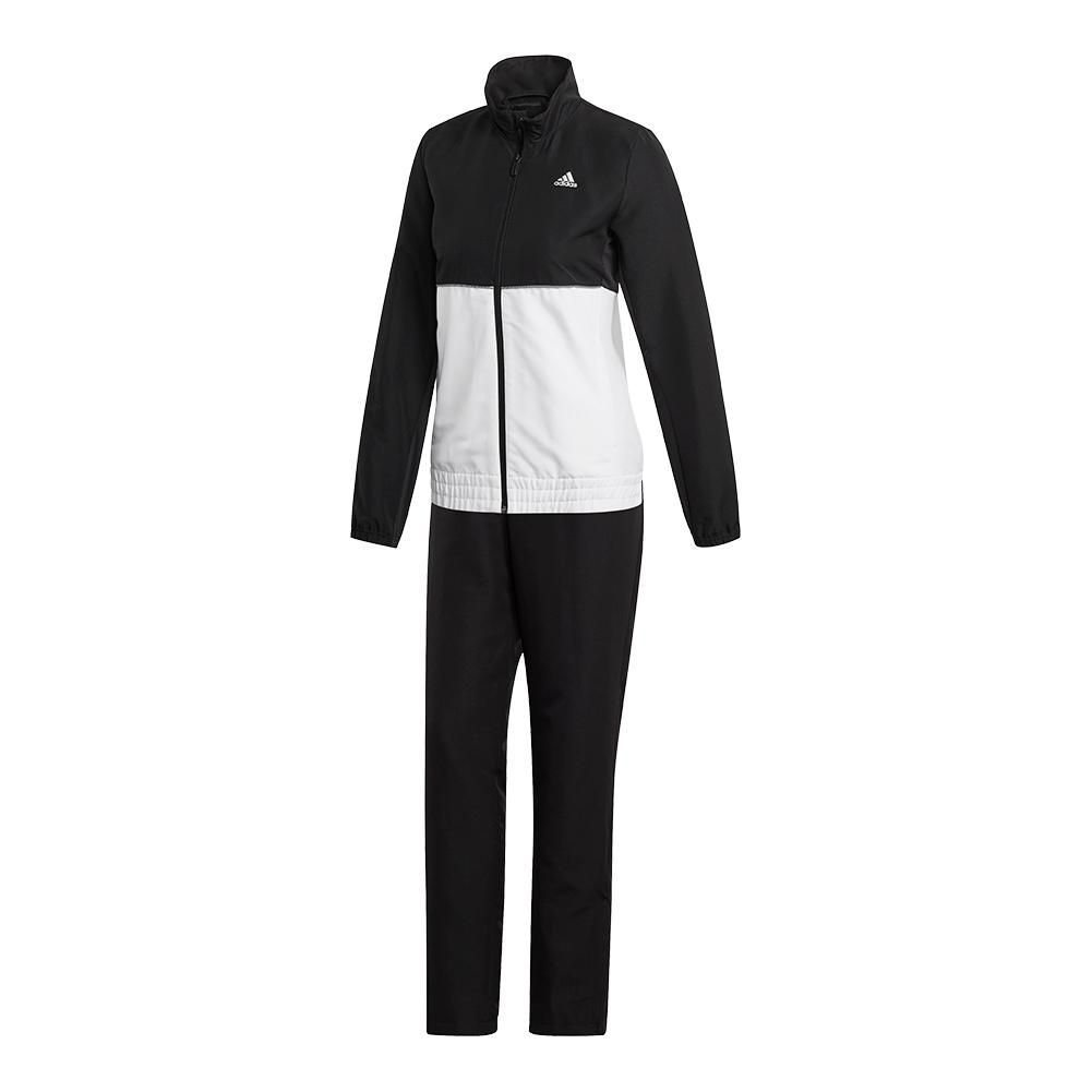Women's Club Tracksuit Set Black And White