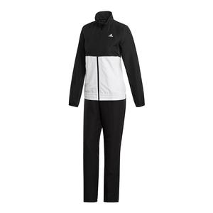 Women`s Club Tracksuit Set Black and White