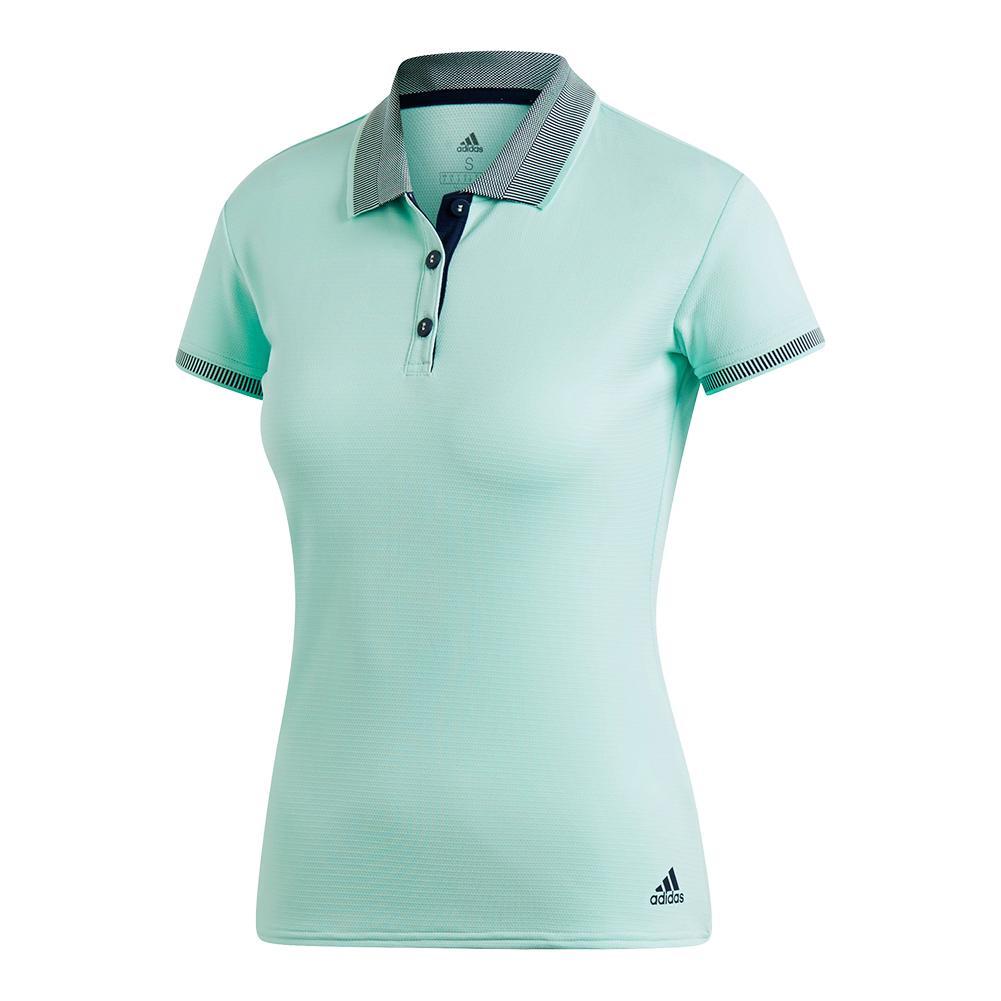 Women's Club Tennis Polo Clear Mint