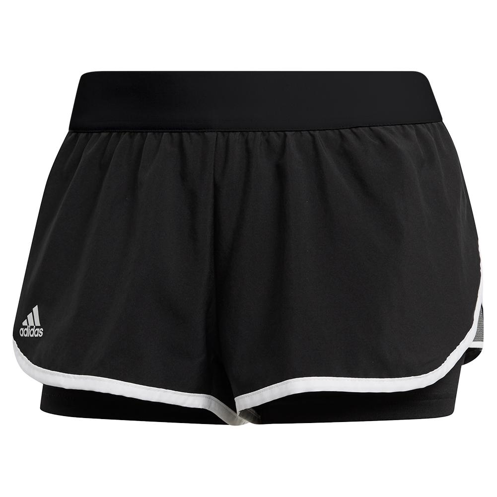 Adidas Women's Club 3.5 Inch Tennis Short Black