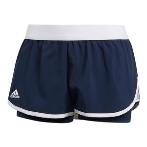 Women`s Club 3.5 Inch Tennis Short Collegiate Navy