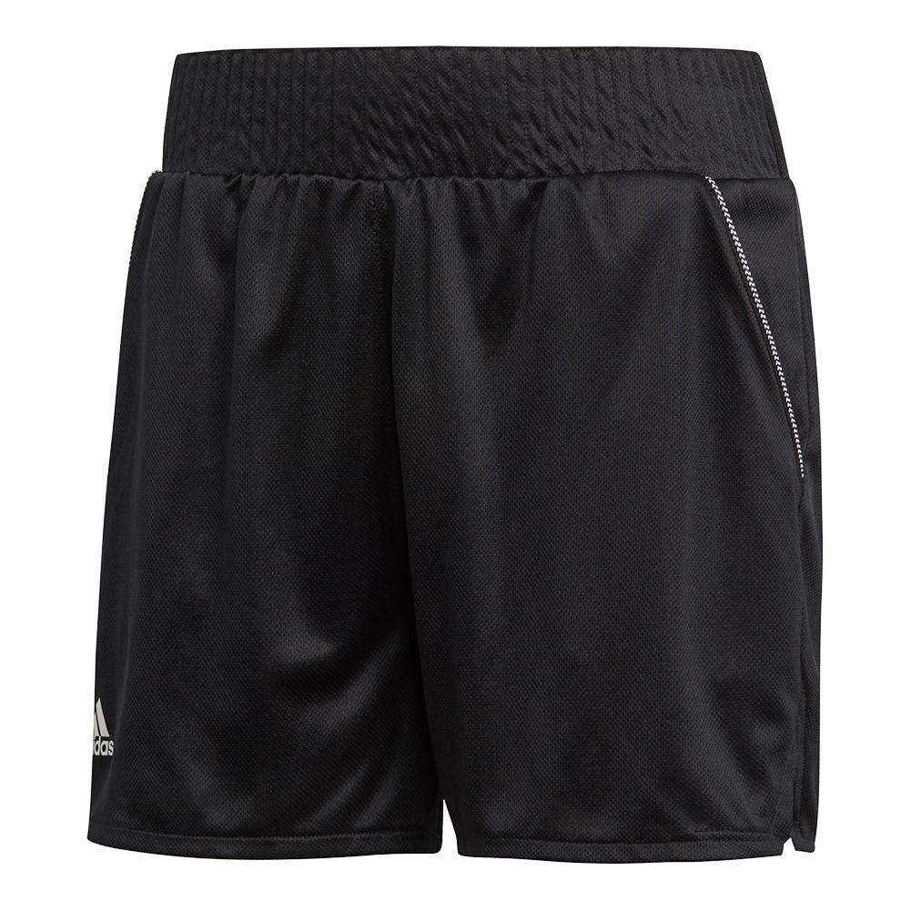 Women's Club Hi- Rise 4.5 Inch Tennis Short Black