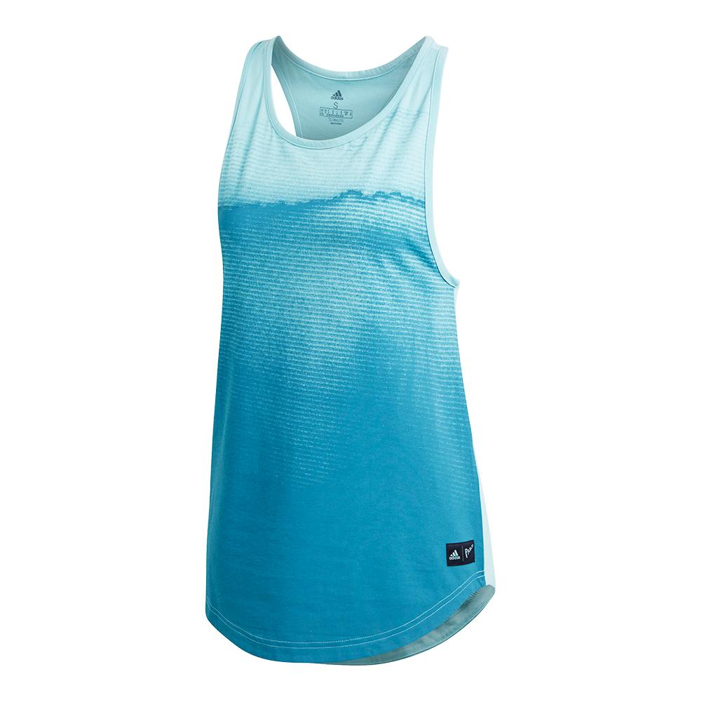Women's Parley Tennis Tank Blue Spirit