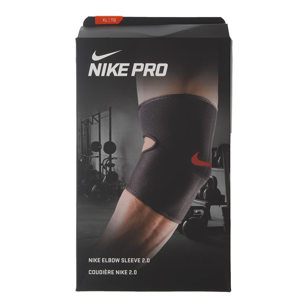Pro Elbow Sleeve 2.0 Black And University Red