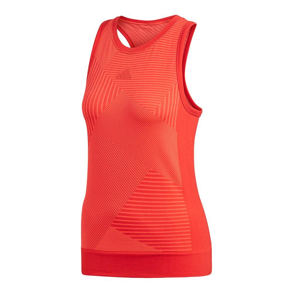 fe54853fc6d29 Adidas Women s MatchCode Tennis Tank Scarlet
