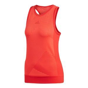 Women`s MatchCode Tennis Tank Scarlet