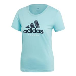 Women`s Category Tennis Tee Blue Spirit