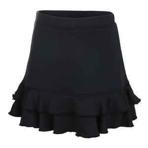 Girls` Ruffle Tennis Skort Black