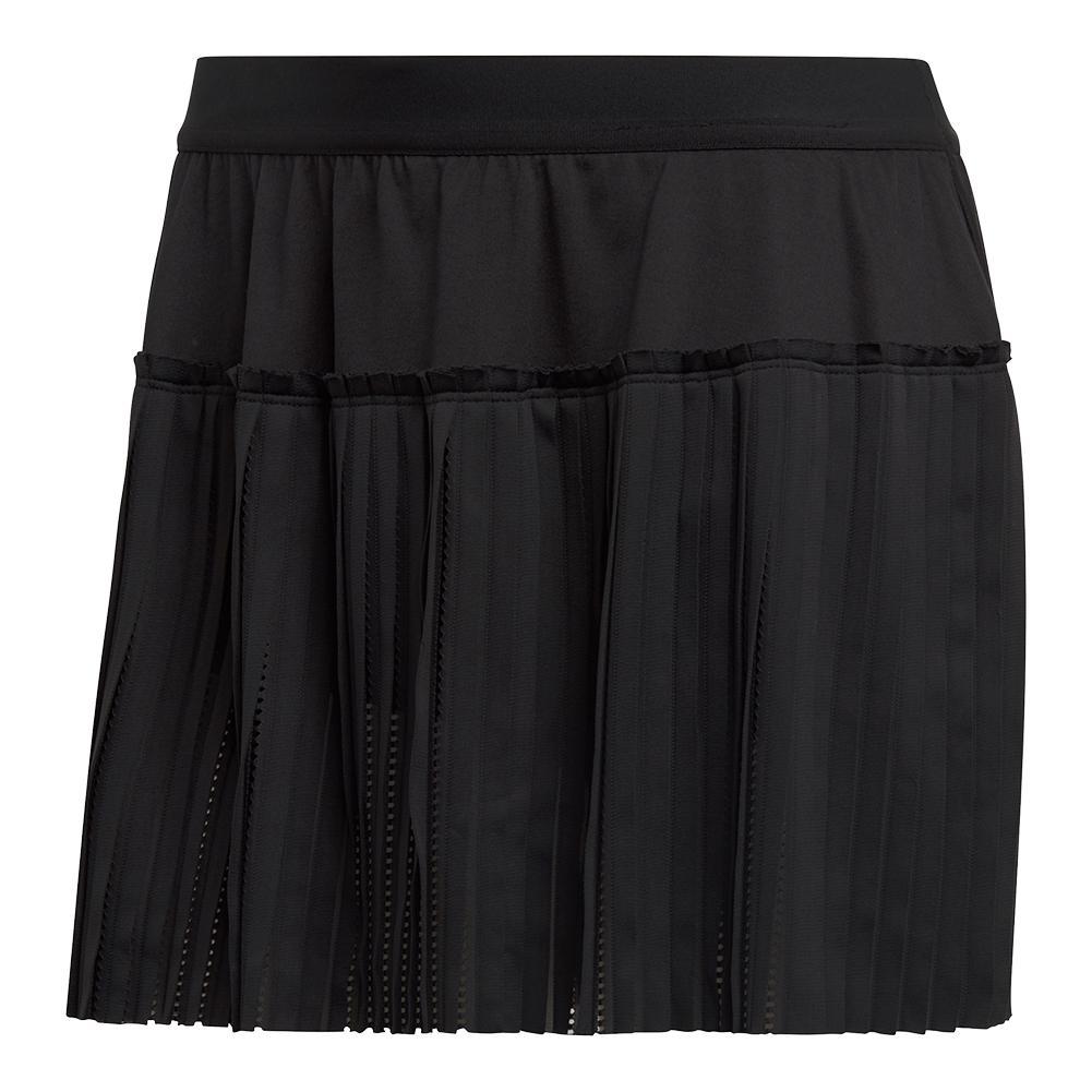 Women's Matchcode Tennis Skirt Black