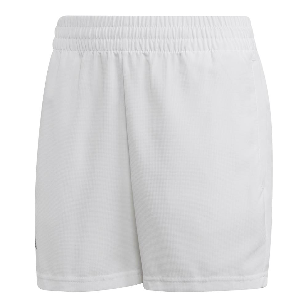 Boys ` Club Tennis Short White And Black