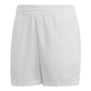 Boys` Club Tennis Short White and Black