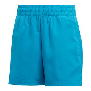Boys` Club Tennis Short Shock Cyan and Black