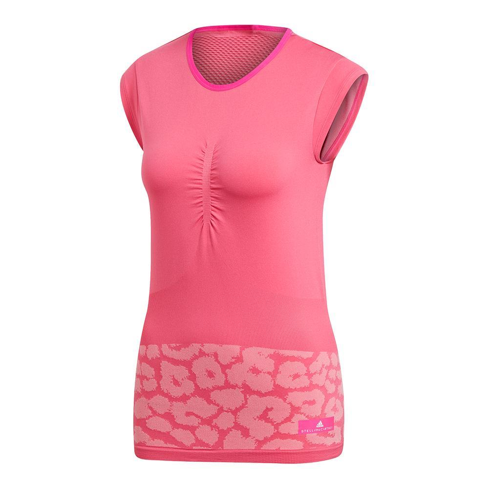 Women's Stella Mccartney Court Tennis Top Shock Pink