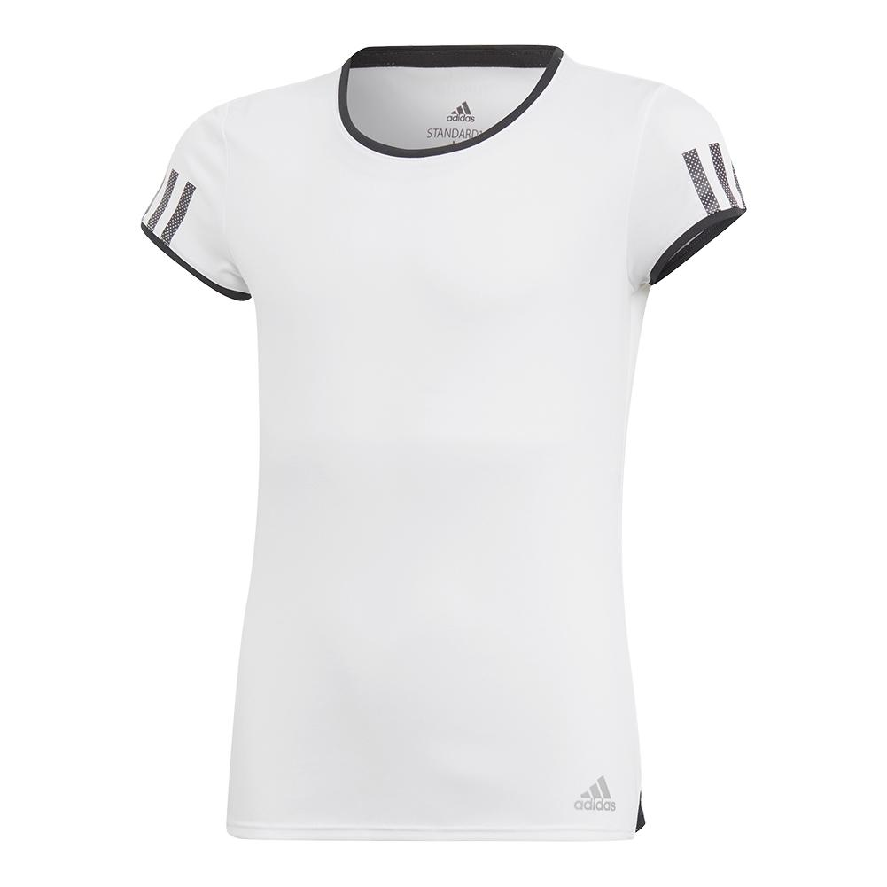 Girls ` Club Tennis Top White
